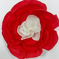Бумажные цветы  из дизайнерского картона  25 см, фото 1