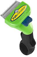 Фурминатор FURminator Short Hair Small Dog для короткошерстных собак - 4.5 см