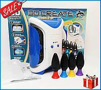 Набор для детского творчества 3D Create Machines с 3D-маркером / Игрушка 3D Принтер детский + подарок