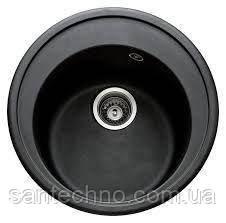 Гранітна мийка для кухні Argo Tondo Rosa 510*200