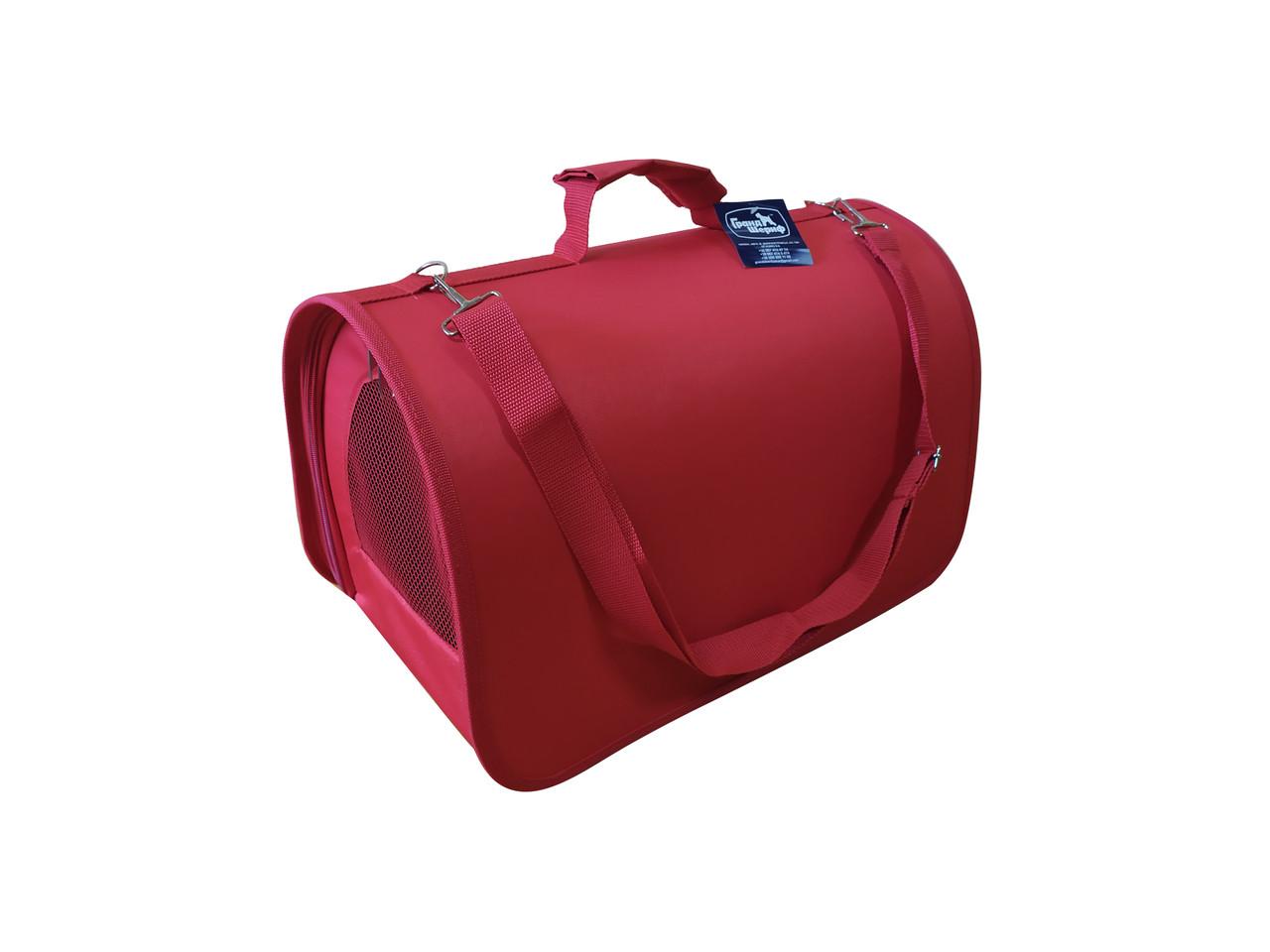 Сумка-переноска Гранд Шериф 40,5х26х30,5см (красная)