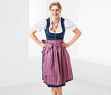 Баварский традиционный костюм дирндль, полный комплект от тсм tchibo (чибо), германия, от 46 до 54