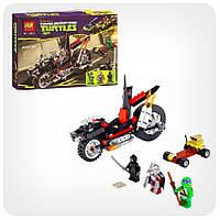 Конструктор Ninja Turtles «Мотоцикл-дракон Шредера»