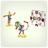 Оригинальная игрушка Конструктор Zoob 55 деталей