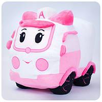 Мягкая игрушка Робокар Поли - Эмбер (33 см)