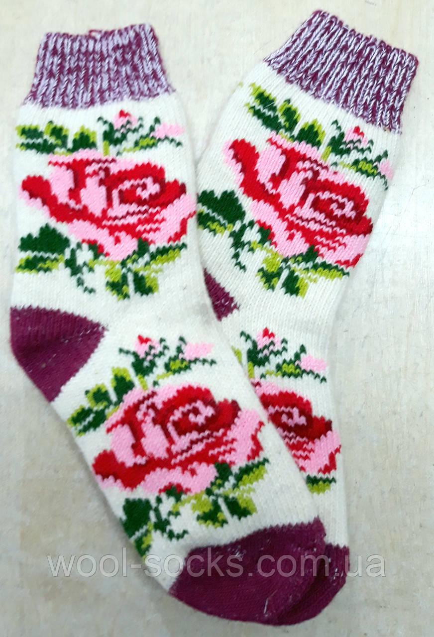 Носки из шерсти женские