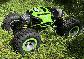 Машинка-трансформер на радиоуправлении Leopard King Вездеход зеленая + Led часы в подарок, фото 8