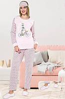 Женская махровая пижама Турция LA-4335, фото 1