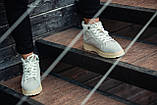 Ботинки зимние мужские South navy ivory, классические зимние ботинки на зиму, фото 3