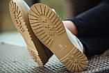 Ботинки зимние мужские South navy ivory, классические зимние ботинки на зиму, фото 9