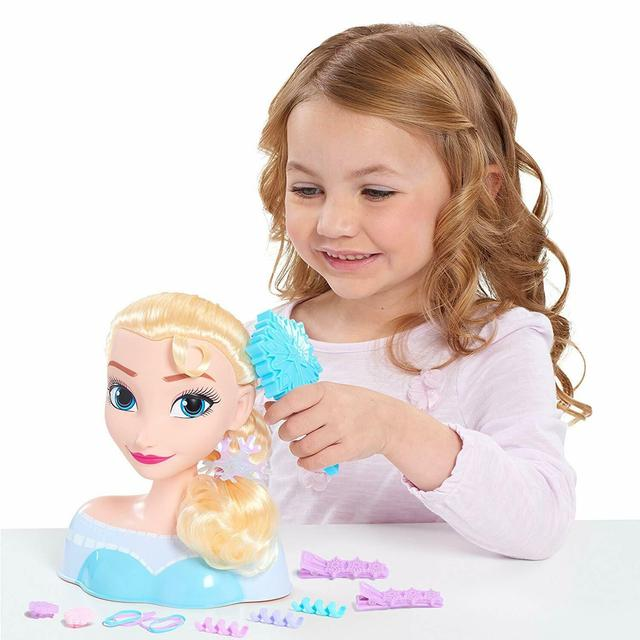 Disney Frozen Elsa Styling Head Голова манекен Эльза для причесок