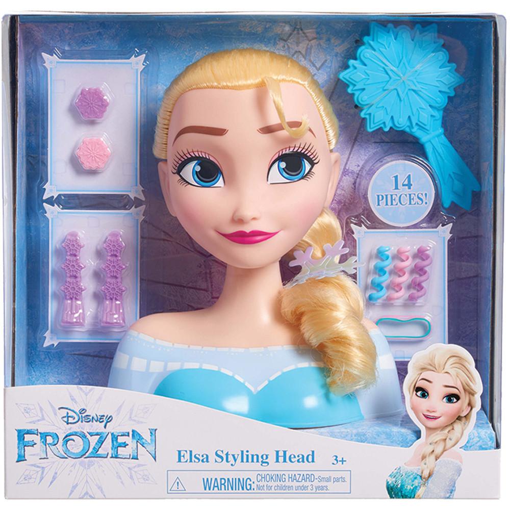 Набір для стилювання зачісок Frozen Elsa Styling Head ( Набор для создания причесок Эльза Холодное Сердце)