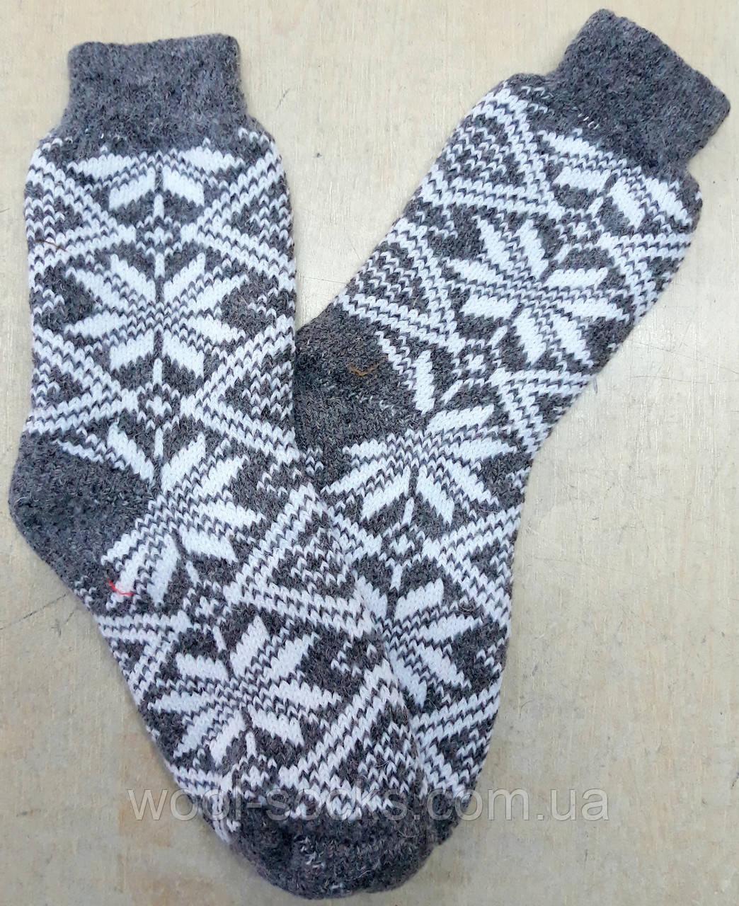 Носки шерстяные женские