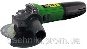 Болгарка (угловая шлифмашина) ProCraft PW-1100 E (констант.электроника,регулировка оборотов,125мм), фото 2
