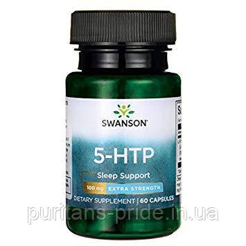 5-гидрокситриптофан, Swanson 5-HTP 100 mg  60 Capsules