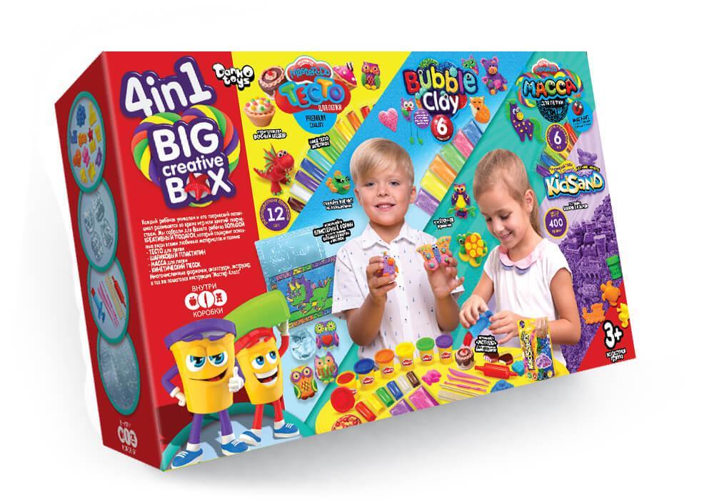 Набор  креативного творчества  Danko Toys 4 в 1 BIG CREATIVE BOX
