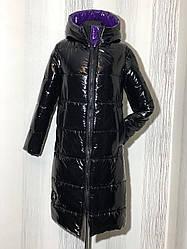 Зимнее женское пальто пуховик в расцветках, р.44-50