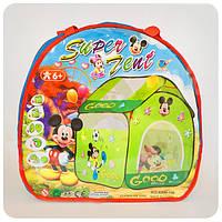 Палатка детская игровая «Микки Маус»
