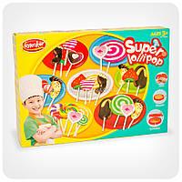 Набор пластилина для творчества «Шеф-повар» (6 цветов, формочки для леденцов, столовые приборы)