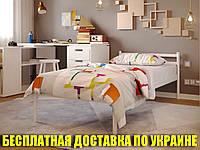Односпальная кровать металлическая для хостелов, гостиниц, пансионатов КОМФОРТ (COMFORT)  ТМ Метакам
