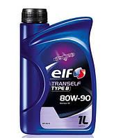 Трансмиссионное минеральное масло ELF(эльф) Tranself TYPE B 80W-90 1л.