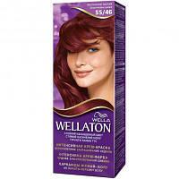 Крем-краска для волос Wellaton 55/46 Екзотический красный (4056800899166)
