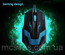 Мышка Aorora X5 USB проводная оптическая компьютерная игровая черное колесико