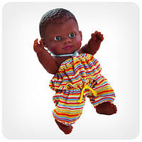 Кукла серии «Пупсы-малыши» - Младенец мулат без коробки
