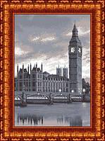 Схема для вышивания бисером «Лондон» на габардине