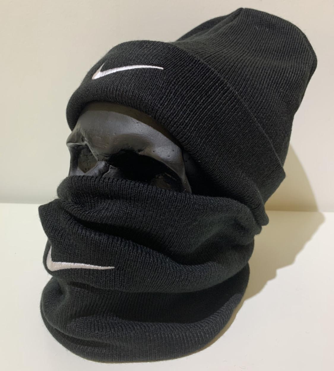 Бафф мужской Nike - ❄️ Winter ❄️ Черный