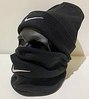 Бафф мужской Nike - ❄️ Winter ❄️ Черный, фото 1