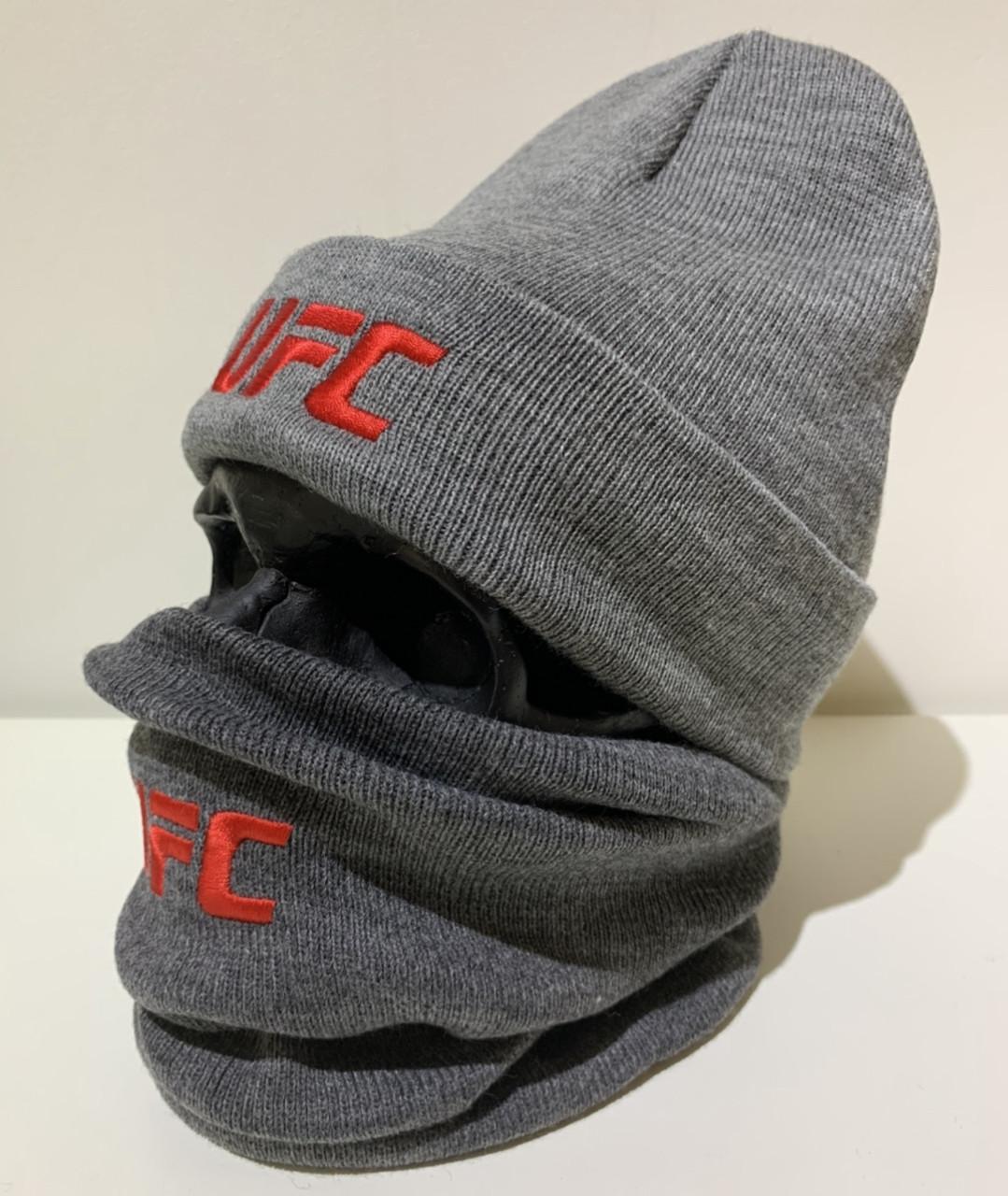 Бафф мужской UFC - ❄️ Winter ❄️ Серый