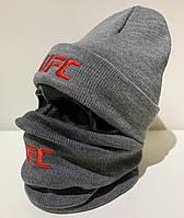 Бафф мужской UFC - ❄️ Winter ❄️ Серый, фото 1