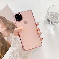 НОВИНКА 2020. Оригинальный противоударный защитный чехол на iPhone 11 (Розовый)
