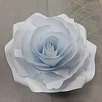 Бумажные цветы  из дизайнерского картона  25 см