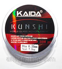 Леска Kaida Kunshi Monofil 30м 0,20мм