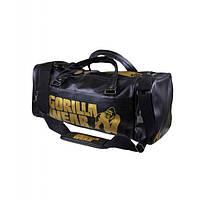 Gorilla Wear, Сумка спортивная Gym Bag Black/Gold 2.0, фото 1
