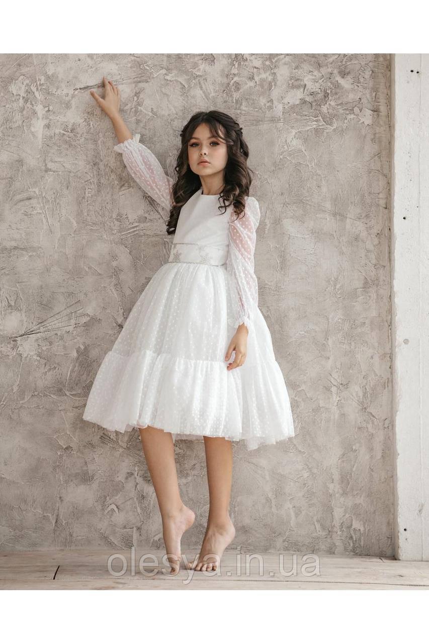 Платье нарядное для девочки np-25 TM Barbarris  Размеры 104-134