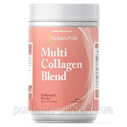 Puritan's Pride Multi Collagen Blend 270g, фото 2
