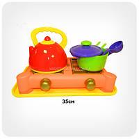 Посуда «Набор с газовой плитой» (6 предметов)
