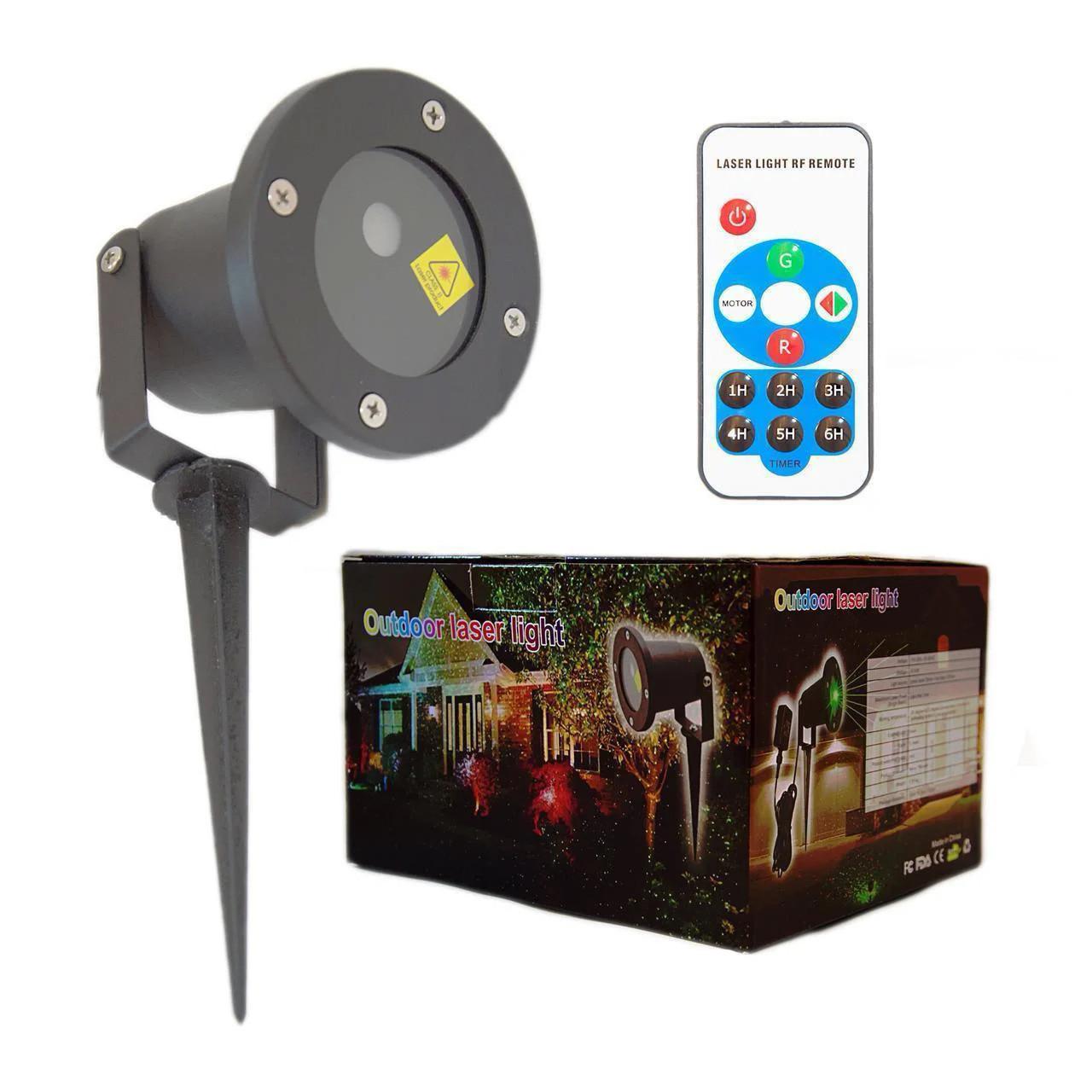 Лазерный проектор Star Shower METAL 66 (RG12) (№83)