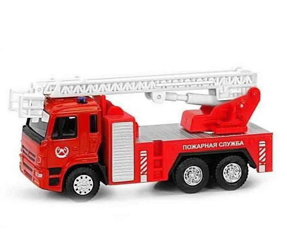 RUS Модель пожарка PLAY SMART 6514A