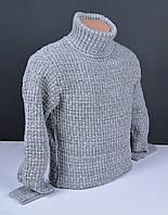 Мужской теплый свитер под горло 7053