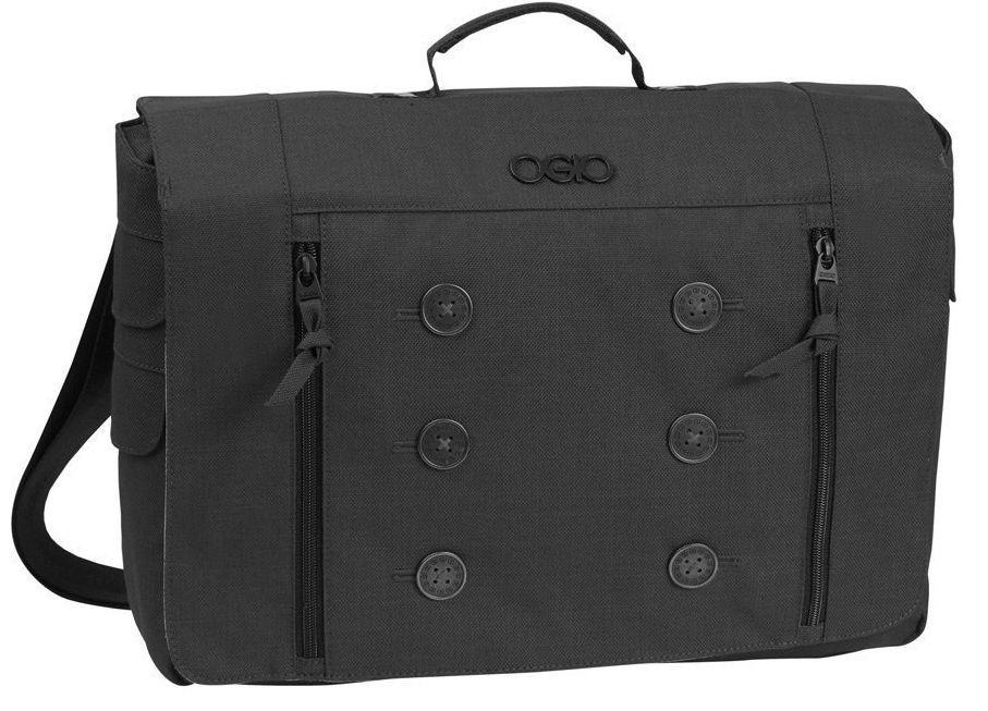 """Женская практичная сумка-мессенджер с отделением для ноутбука 15"""" OGIO Midtown Messenger 114005.03 Black"""