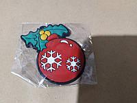 Подарочный Магнит Новогодний Елочная игрушка