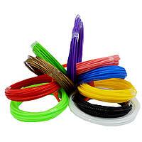 ПРОДАЁТСЯ ТОЛЬКО УПАКОВКОЙ! Набор PLA Пластика для 3D-ручки 20 цветов по 10 м в ассортименте (S08112)