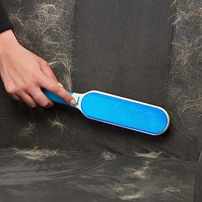 Щетка для чистки шерсти Hurricane Fur Wizard НАБОР, уборка шерсти, набор для уборки шерсти, щетка для мебели, фото 2