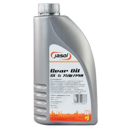 Трансмиссионное масло Jasol Gear Oil GL-5 75W140 (1л)