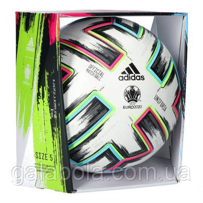Мяч футбольный Adidas Uniforia Euro 2020 OMB FH7362 (размер 5)