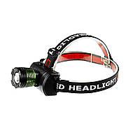 Налобный фонарик BL-6968 ультрафиолет (S08241)